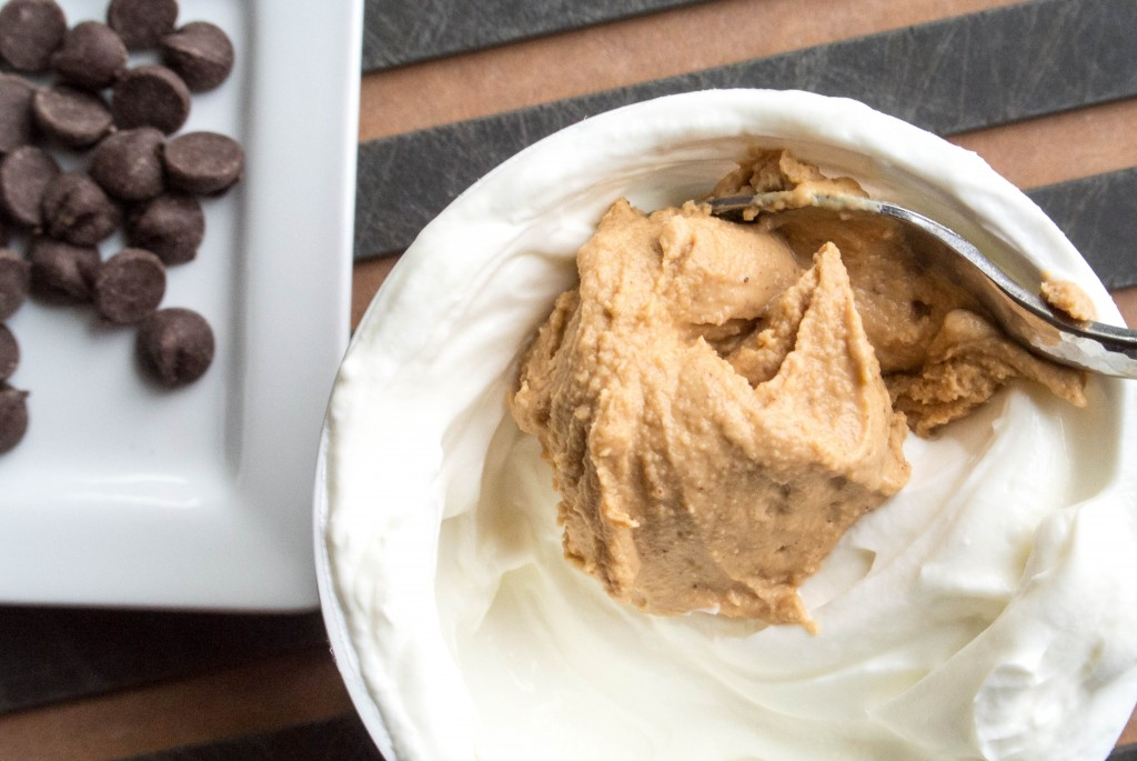 Chocolate Chip Peanut Butter Greek Yogurt