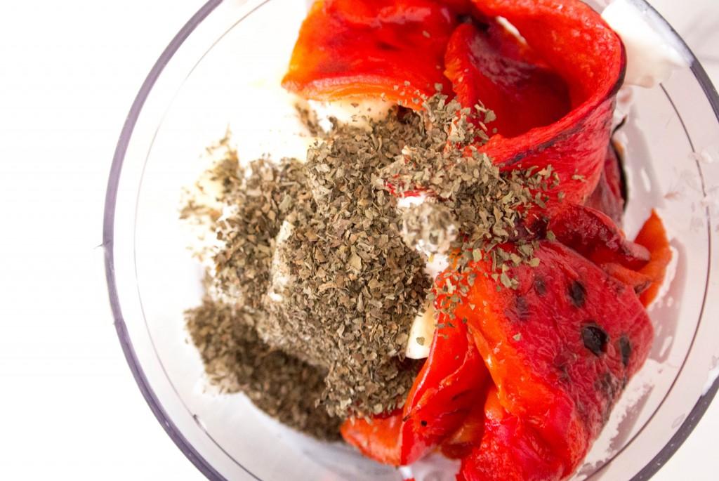 Roasted Red Pepper Dip by My Utensil Crock