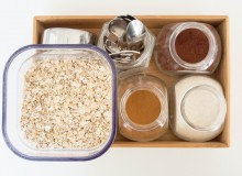 Oatmeal Station by My Utensil Crock - a streamlined way to assure a quick, healthy, filling breakfast