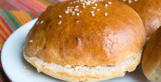 Fast, No-Rise Homemade Hamburger Buns {S...
