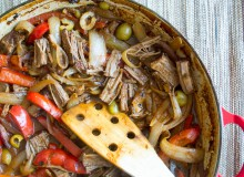Ropa Vieja - Cuban Shredded Beef - by My Utensil Crock