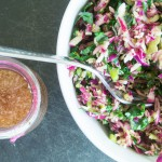 Super Salad Slaw with Cider Vinegar Dressing