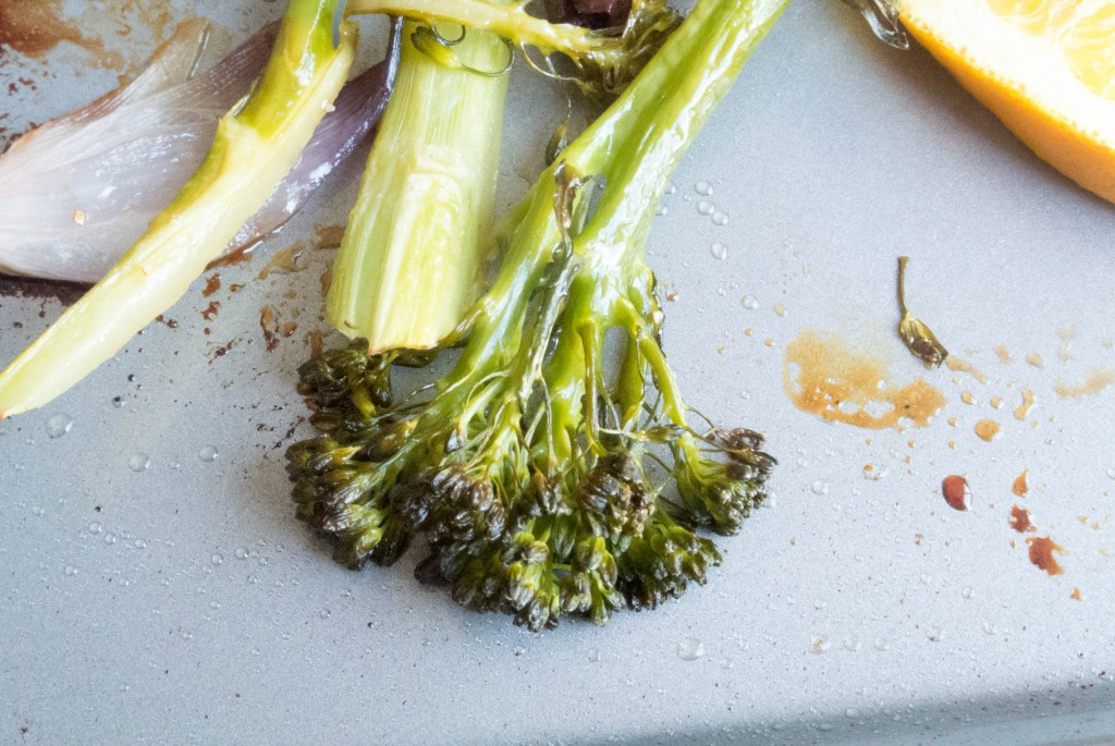 Roasted Broccolini by My Utensil Crock