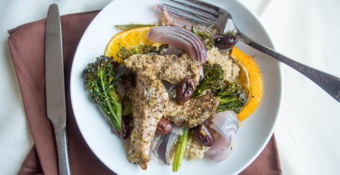 Roasting Pan Meal: Za'atar Chicken...