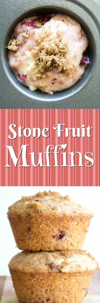 Stone Fruit Muffins by My Utensil Crock