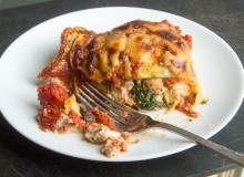 Zucchini Turkey Sausage Lasagna by My Utensil Crock