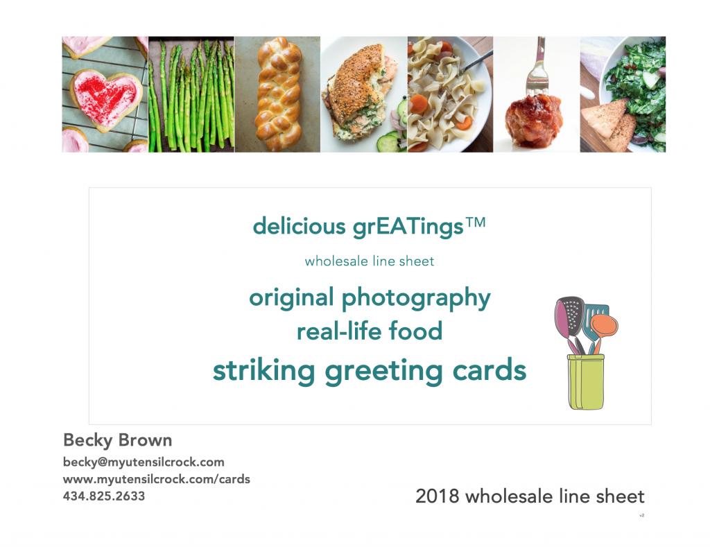 delicious grEATings™ by My Utensil Crock