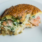 Lox + Bagel Brunch Bake