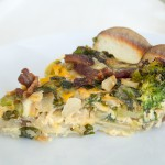 Loaded Baked Potato Crustless Quiche