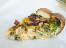 Loaded baked potato quiche ~ by My Utensil Crock