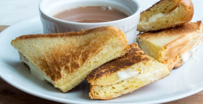 Mascarpone Grilled Cheese Sandwiches wit...
