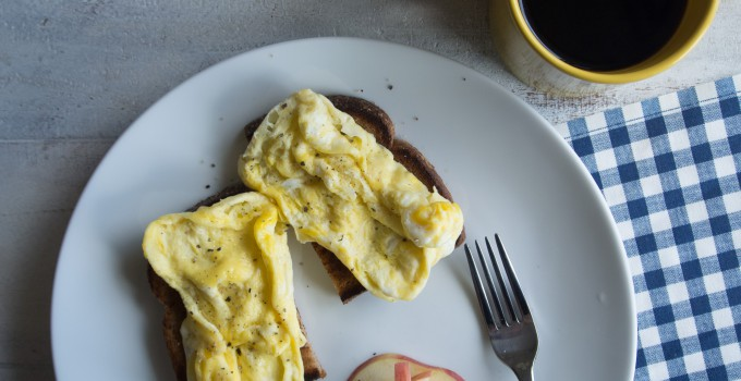 30 Second Scrambled Eggs – in the ...
