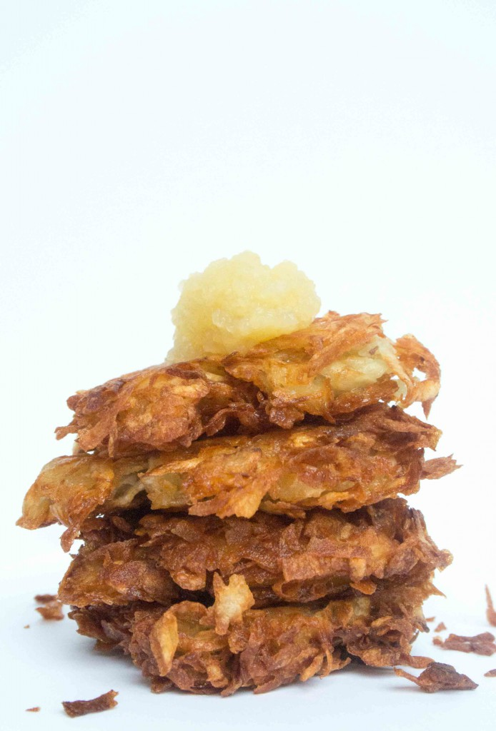 Dad's Latkes ~ by My Utensil Crock