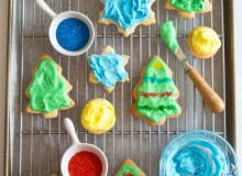 Grandma's Holiday Cookies {Cut-Out Cookies}