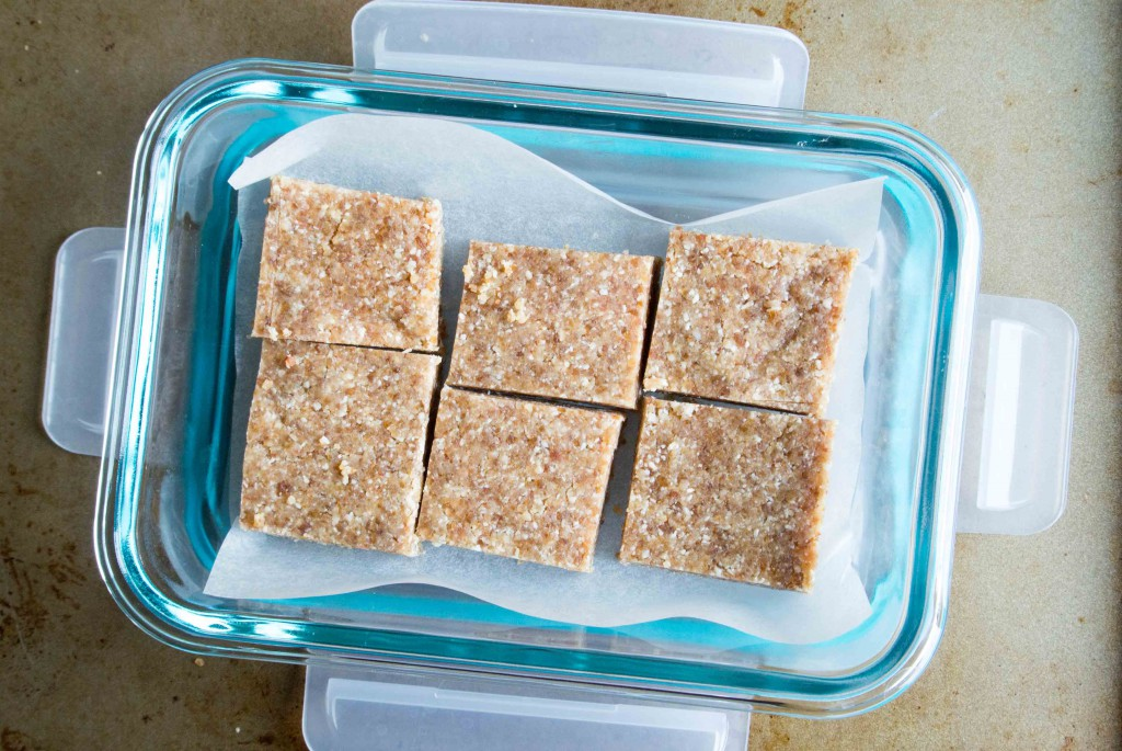 Coconut Cashew Date Bars ~ by My Utensil Crock