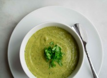 Lentil Cilantro Soup ~ by My Utensil Crock