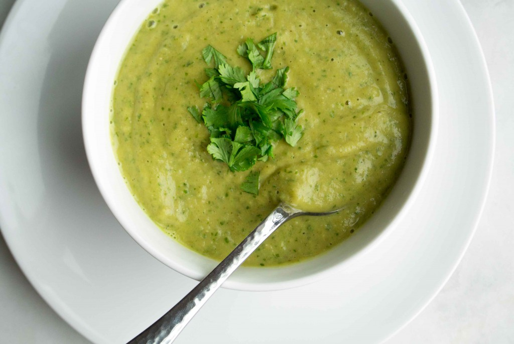 Lentil Cilantro Soup ~ by My Utensil Crock