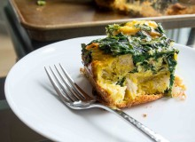 Farmers Market Spring Breakfast Egg Bake ~ by My Utensil Crock