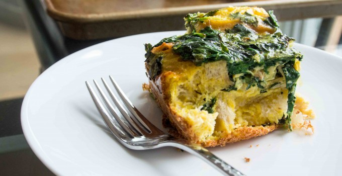 Farmers Market Spring Breakfast Egg Bake