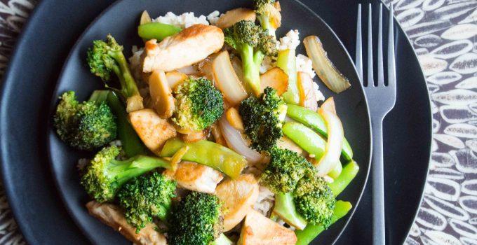 Broccoli – Chicken Stir Fry