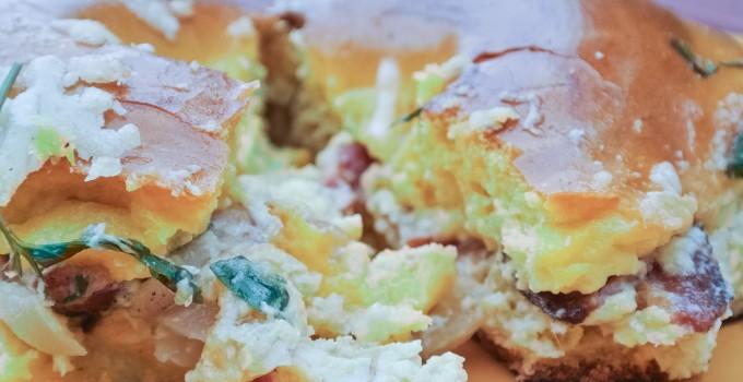 Bagel Bake {Bagel + Egg Overnight Casser...