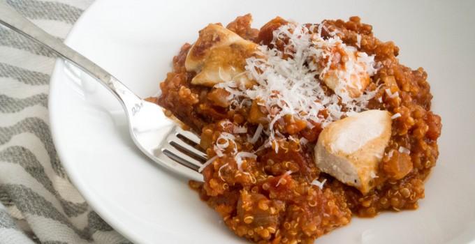 Marinara Quinoa with Chicken