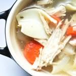 Chicken Noodle Soup {Healthy + Easy}