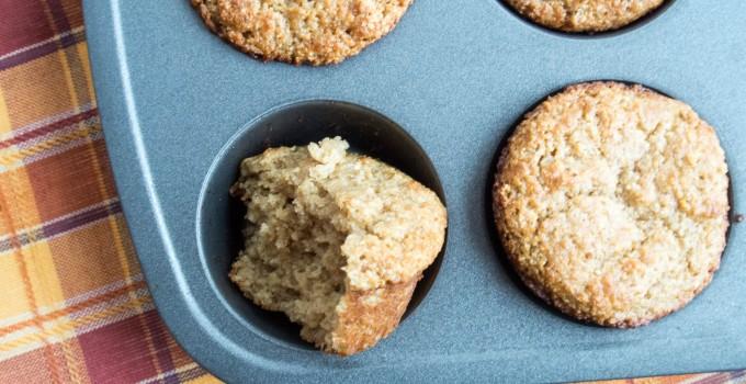Ginger Oat Muffins {Fast + Easy + Health...