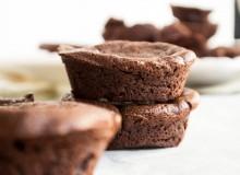 Mini Flourless Chocolate Cake ~ by My Utensil Crock